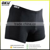 China wholesale seamless Padded Boxer Shorts, Cycling Undershorts, bicycle underwear