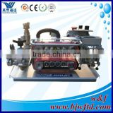 Jetting Machine for cable microcable and microtube bundles