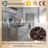chocolate drops depositing machine Line with cooling tunnel