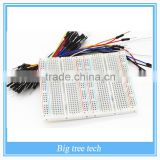 750-point Experiment Breadboard with Jumper Wires Uno r3 ,mega 2560,due,raspberry pi kits