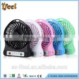 hot !!!rechargeable Fashion Cool usb electric mini battery powered fan motors with low price mini cooling fan for cellphone