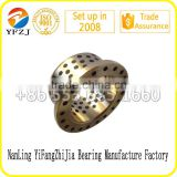 oilless bearing gold supplier many size of bronze bushing,brass bushing,flanged brass bush