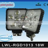 18W super bright waterproof IP68 RGD1013 led offroad buggy light