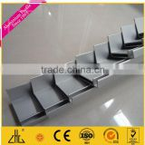 Manufacturer 6061 angle aluminium extrusion profiles ,20*20*2mm aluminium angle bar supplier, aluminum angle profile