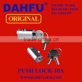 DAHFU ORIGINAL CABINET PUSH LOCK DF-010A PPU-010A HARDWARE SAFETY DRAWER DOOR HANDLE LOCK