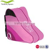 fashion 600pvc water resistant ice skate shoe bag skating shoe bag for wholesale or customize