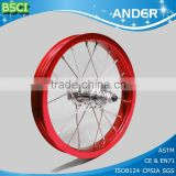 hot selling china color aluminum bicycle tire rims for sale