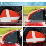 customized car mirror cover flag