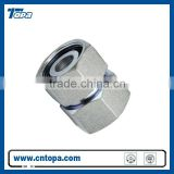 3C-W/3D-W Straight Tube Adapter with swivel nut hydraulic male and female swivel joint fitting captive seal