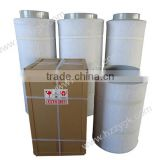 Actived hydroponic carbon filter/carbon air filter for greenhouse/carbon filter and inline fan