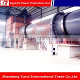 High capacity gypsum powder product plant export to all world production machinery
