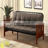 2016 New fashion cheap lazy boy Metal frame click clack Sofa bed