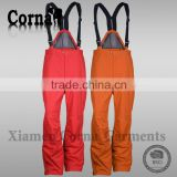 Made in china wholesale men ski pant customized colorful warm keeping elastic belt alibaba trousers