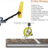 CCTV Security Camera Tube Pipe Inspection Machine Push Rod Cable Reel with Text Writer for Video And Picture Input