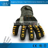 13G nitrile dipping impact padding field hockey gloves