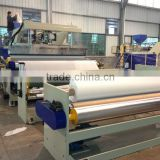 Rain coat curtain PEVA cast film machine
