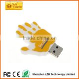 pvc plastic hand Business USB Flash Drive, factory direct offer usb pen drive wholesale china
