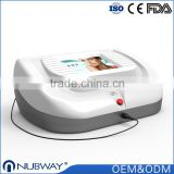 High frequency 30Mhz blood vessels and vascular removal laser machine /vascular removal varicose veins spider veins