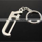 Wholesale PLIERS key chains/saw key chains/ Hardware tools metal key chains/wrench key chains