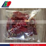 Sachet package dried red chili