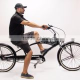 "INquiry about Micano Bronx Long - Chopper Cruiser Beach Bike 26"" High Quality American Style - Black"