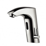 Hot and cold automatic faucet