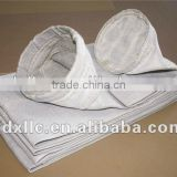 Fiberglass filter fabric/filter media with graphite,silicone oil,ptfe/teflon for bag filters