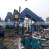 Steel Slag Crusher Machine/ Waste Metal Pipe Crusher Machine/ Oil Barrels Crusher Machine -- DeRui