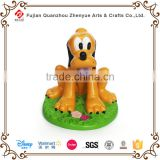 2015 antique polyresin dog statues for sale