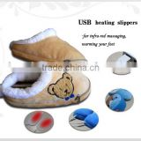 Newest Fashion Heated Slippers USB Warmer Shoes Electric USB Warm Slippers For Wholesale