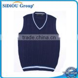 Knitting Sleeveless Name Brand Sweaters Vest For Men