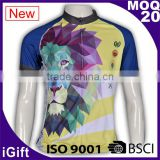 BSCI/ISO9001 Factory Dry fit Breathable fabric Italy sublimation Ink Hotsale cheap custom sports clothes