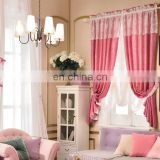 Fashion Romantic Style With Fancy Yarn Curtains and Valances the Pink Curtain