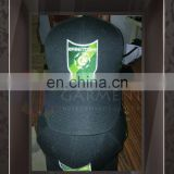 Custom Logo Printing Embriodery Black color Baseball Cap