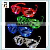 Blinking Led Shutter Shades Light Up Glow Flash Party Glasses HPC-0605
