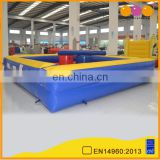 AOQI Outdoor Inflatable Gladiator Joust Arena Sport Game for adult