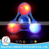 Funny metal led spinning top adult desk toy spinning top