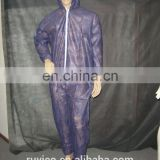CE CAT TYPE disposable nonwoven PP/SMS/SMMS/microporous protective coverall with hood/zipper