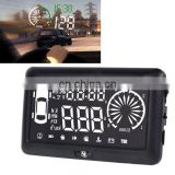 4 Inch Car HUD Head Up Display Vehicle-mounted Security System with OBD2 Interface