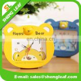Happy little bear mini alarm clock bedside clock gift clock
