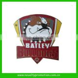 High Quality Bronze Enamel Sports Emblem