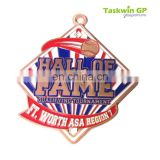 Made in China hot sale high quality cheap metal copper sports medal trophy /custom baseball metal medal for award