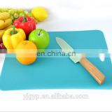 Customized logo PP Kitchen Flexible Cutting Board