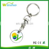 Coin Holder Key Ring