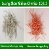 Stainless steel copper plating Stainless steel without electrolytic liquid copper plating