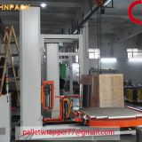 CE High Quality Industrial in line Stretch Film Turntable Pallet Wrapper machine factory
