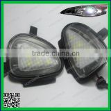 Canbus System No Error Xenon White 18-SMD LED Under Side Mirror Puddle Lights For Volkswagen MK6 6 MKVI GTi Golf                                                                         Quality Choice