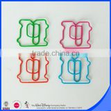 Factory produce colorful personalized plastic paper clip                                                                                                         Supplier's Choice