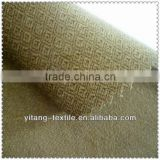 100% polyester embossed flocking velvet fabric