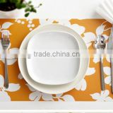 UV printing custom PP placemats, fruit PVC plastic table mats customized design